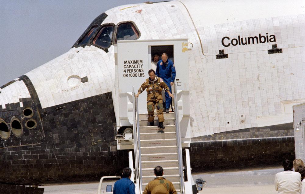 Photos: NASA's First Space Shuttle Flight: STS-1