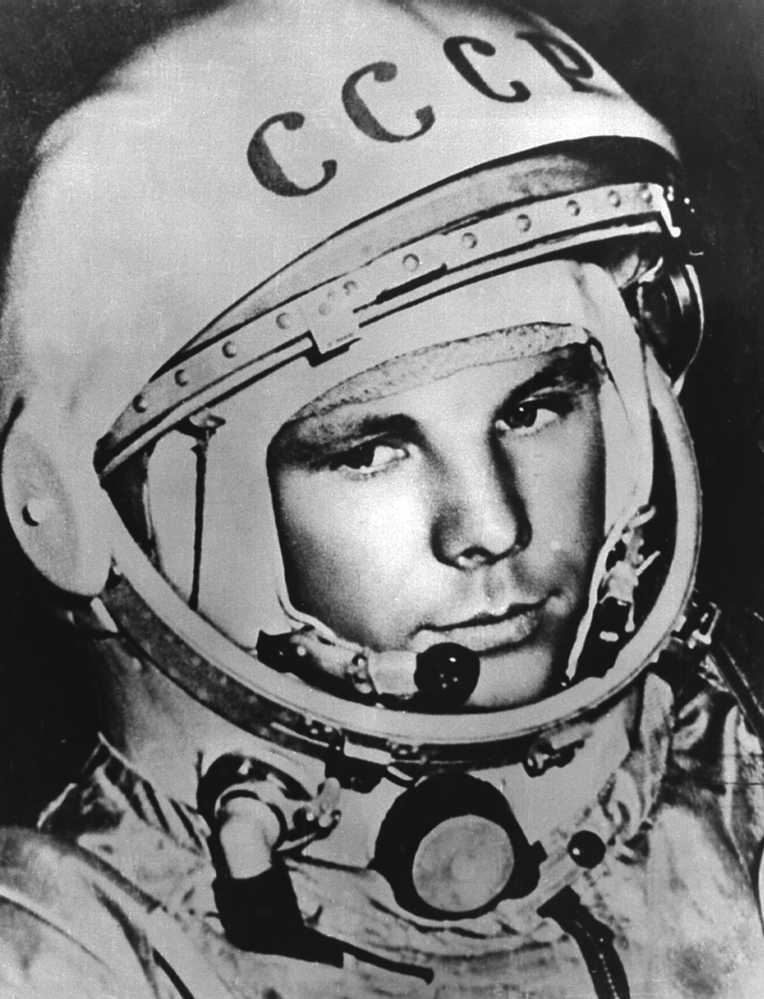 On 12 April 1961, Russian cosmonaut Yuri Gagarin became the first human to travel into space when he launched into orbit on the Vostok 3KA-3 spacecraft (Vostok 1).