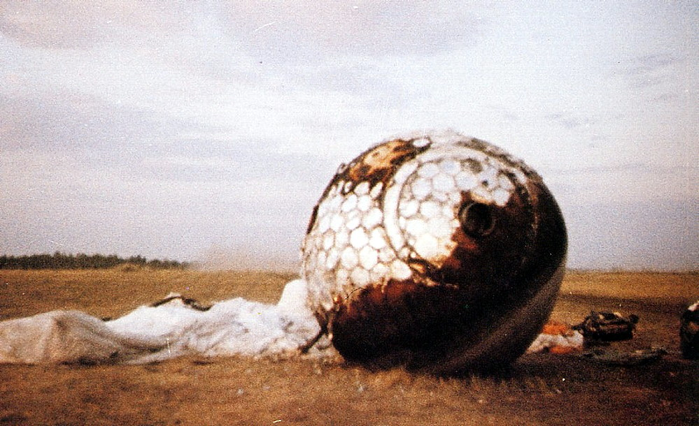 Re-entry Capsule of Vostok 1
