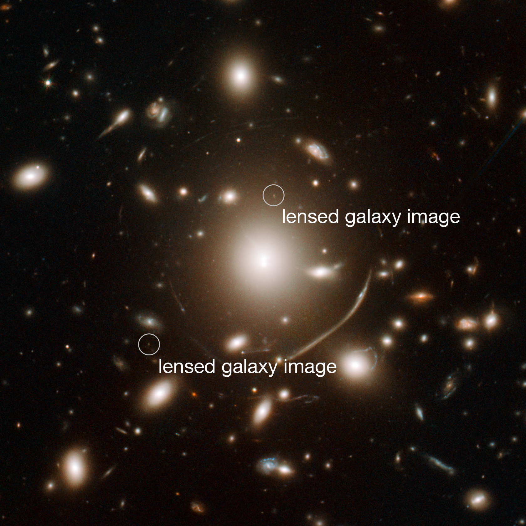 Distant Galaxy Seen by Hubble