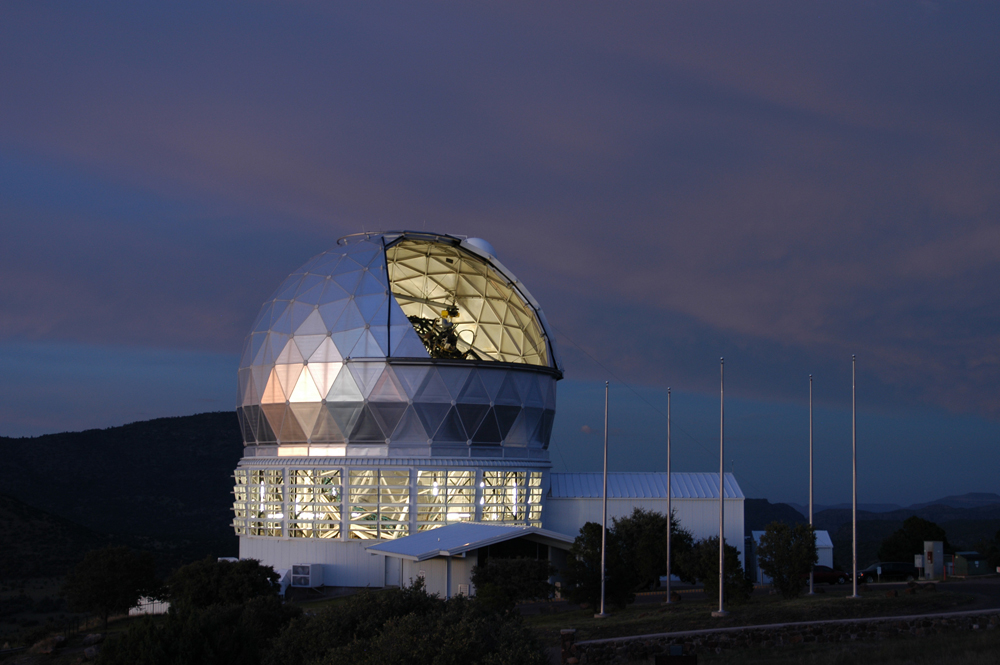 Texas Wildfires Cut Power to McDonald Observatory