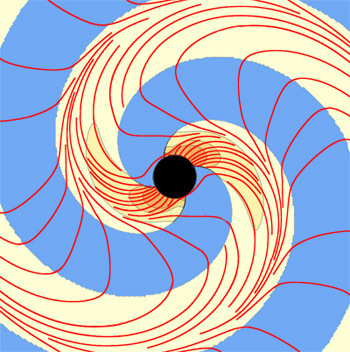 Space-Time Around Black Holes Visualized