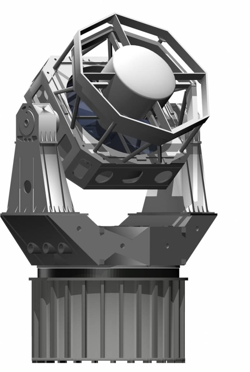 DARPA's Space Surveillance Telescope Artist's Conception