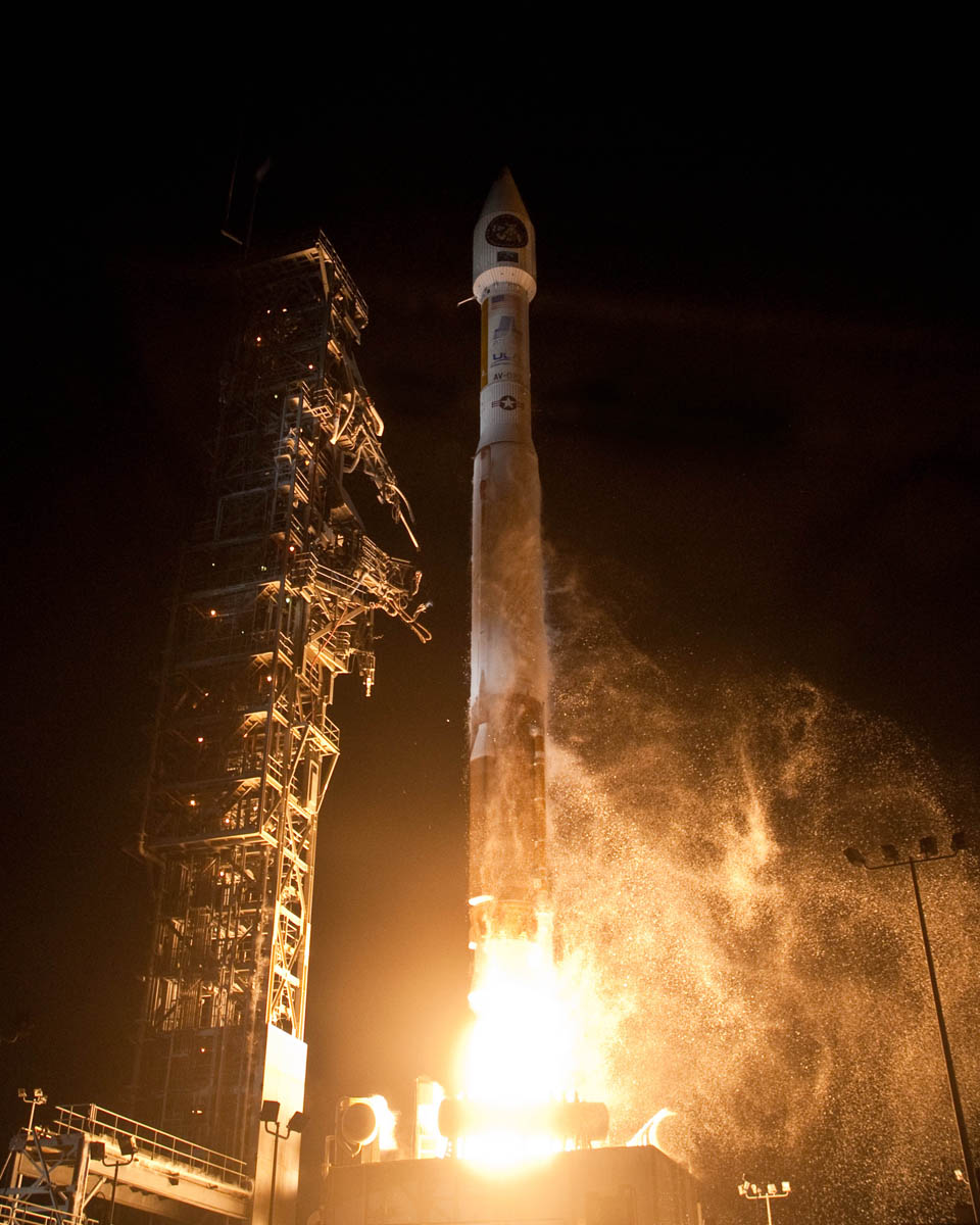 New U.S. Spy Satellite Launches on Clandestine Mission