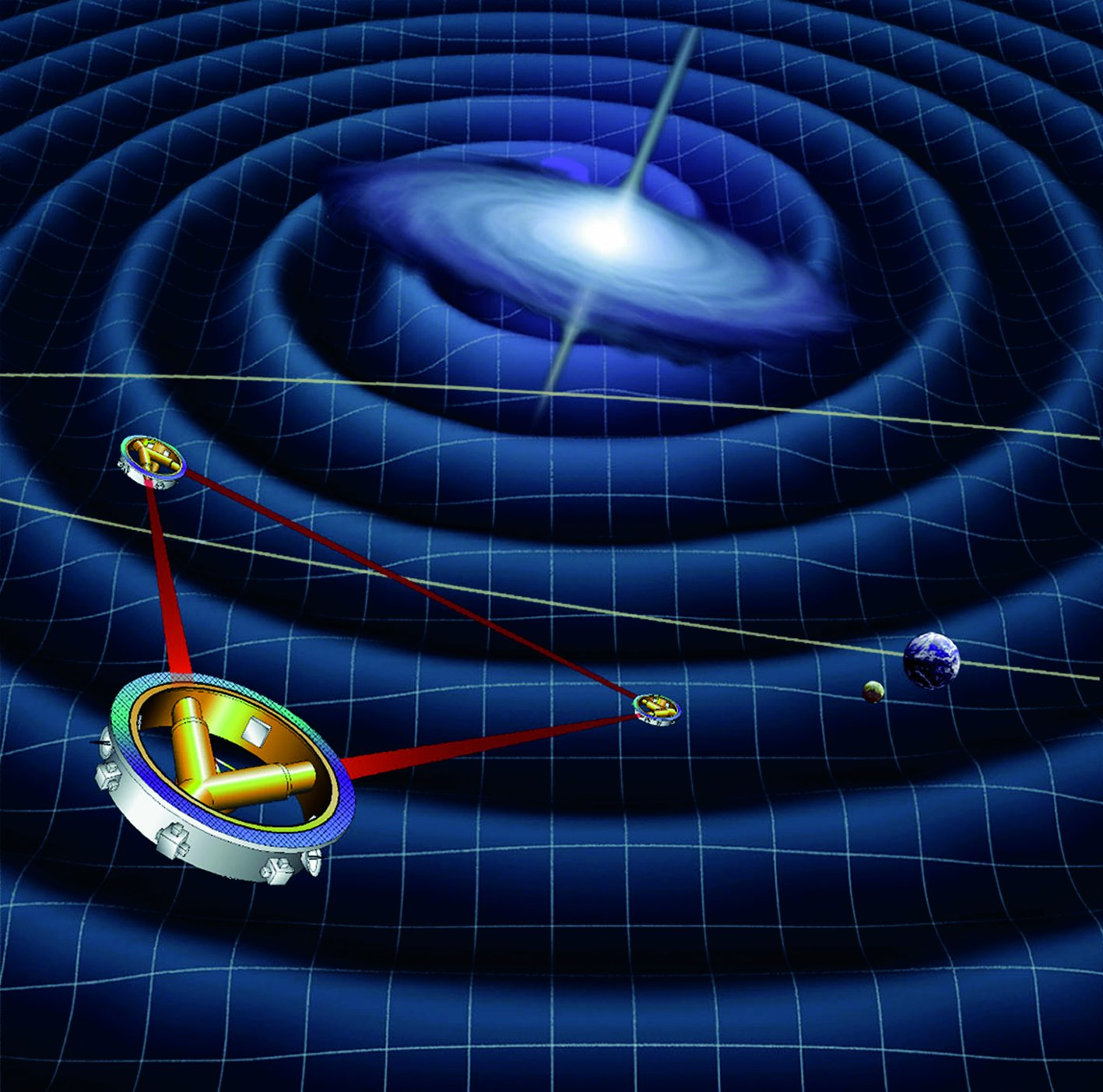 Space Mission to Hunt Gravity Waves Shuts Down Over NASA Funding Shortage