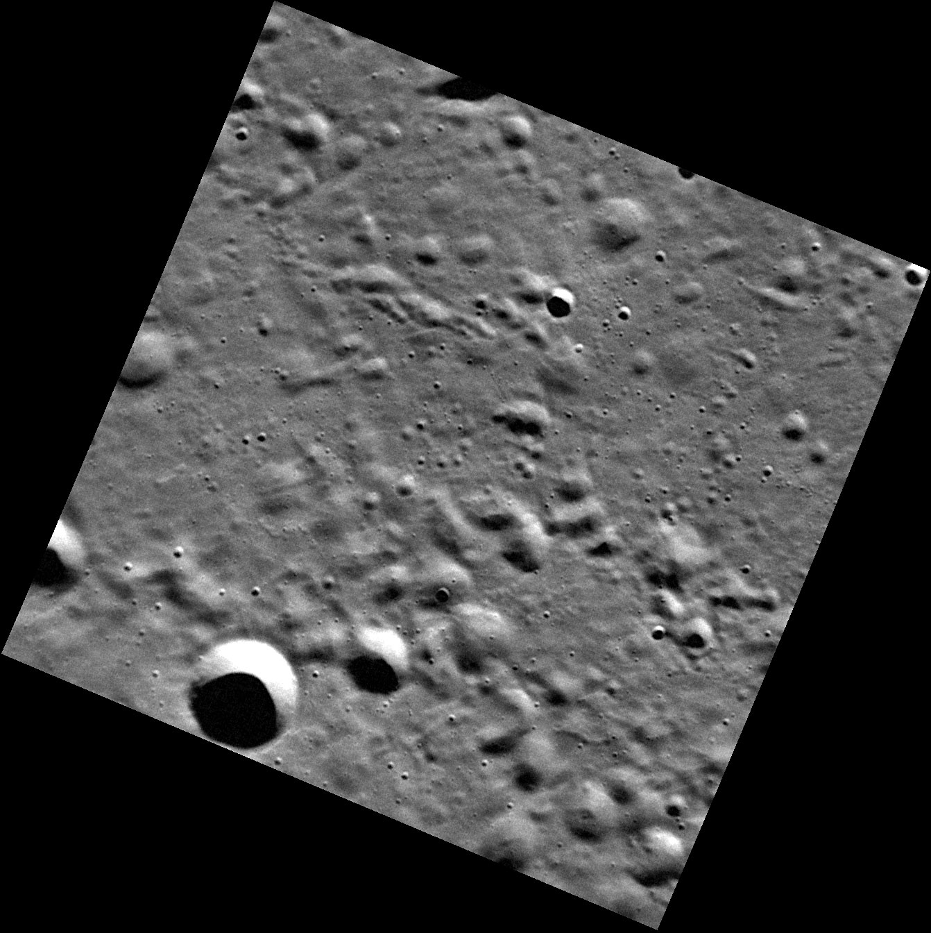 Mercury, as Seen in High Resolution