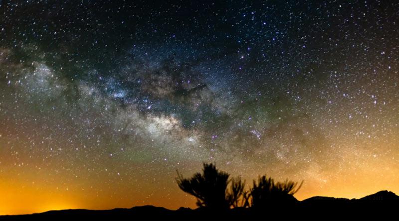 Milky Way Canary Islands