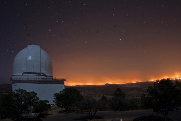 The View from the Otto Struve Telescope