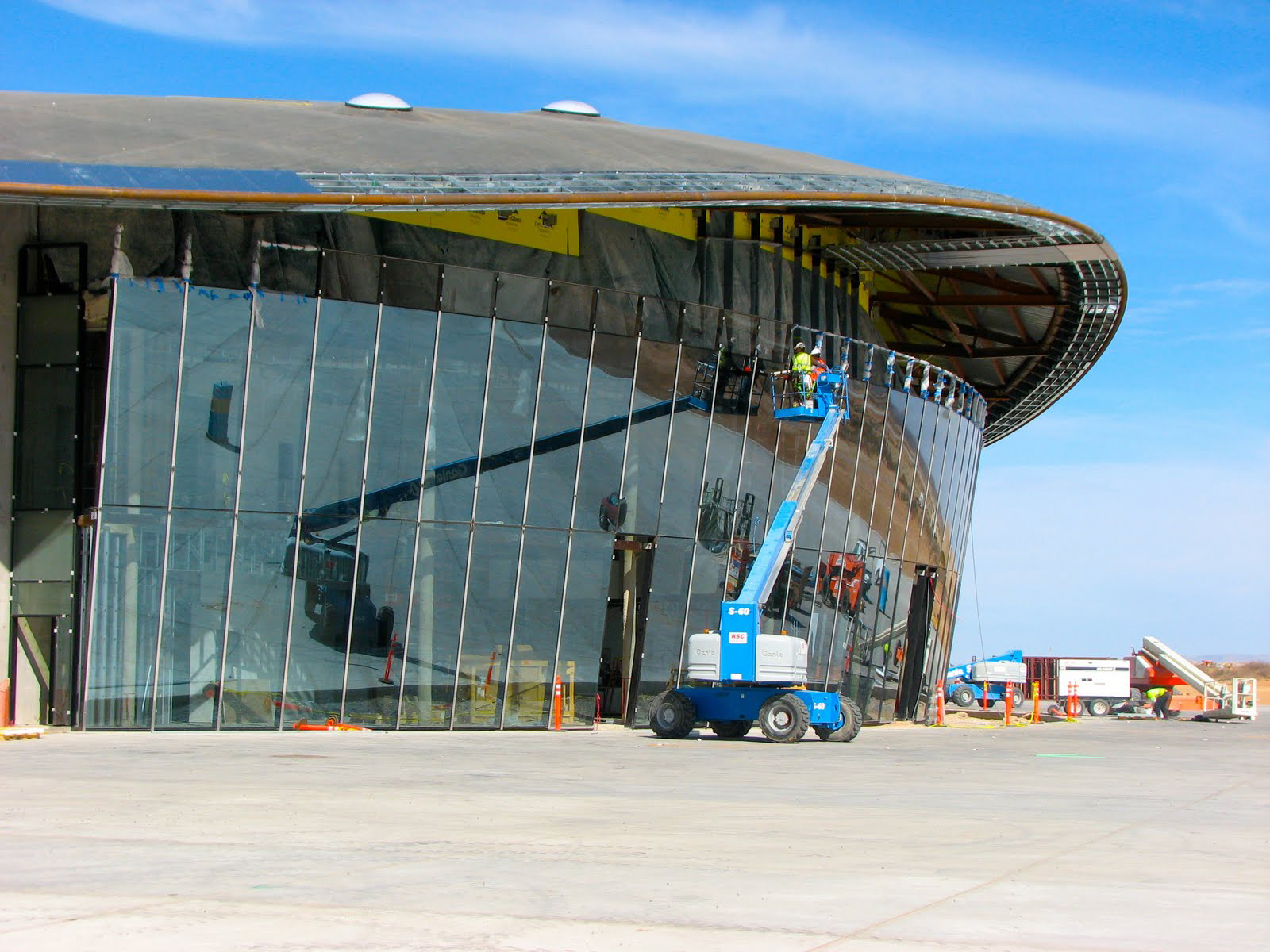 Spaceport America Terminal Nears Completion