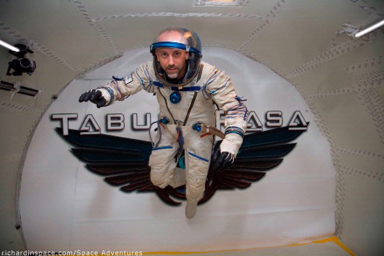 Former Astronaut's Son Signs on as Space Tourist