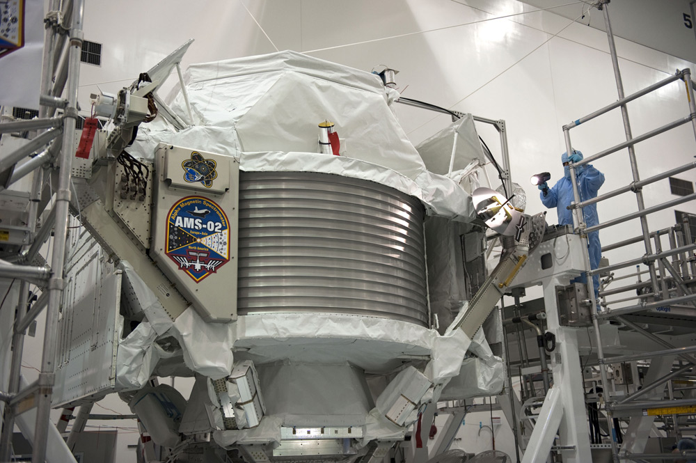 Antimatter-Hunting Experiment Ready for Space Mission