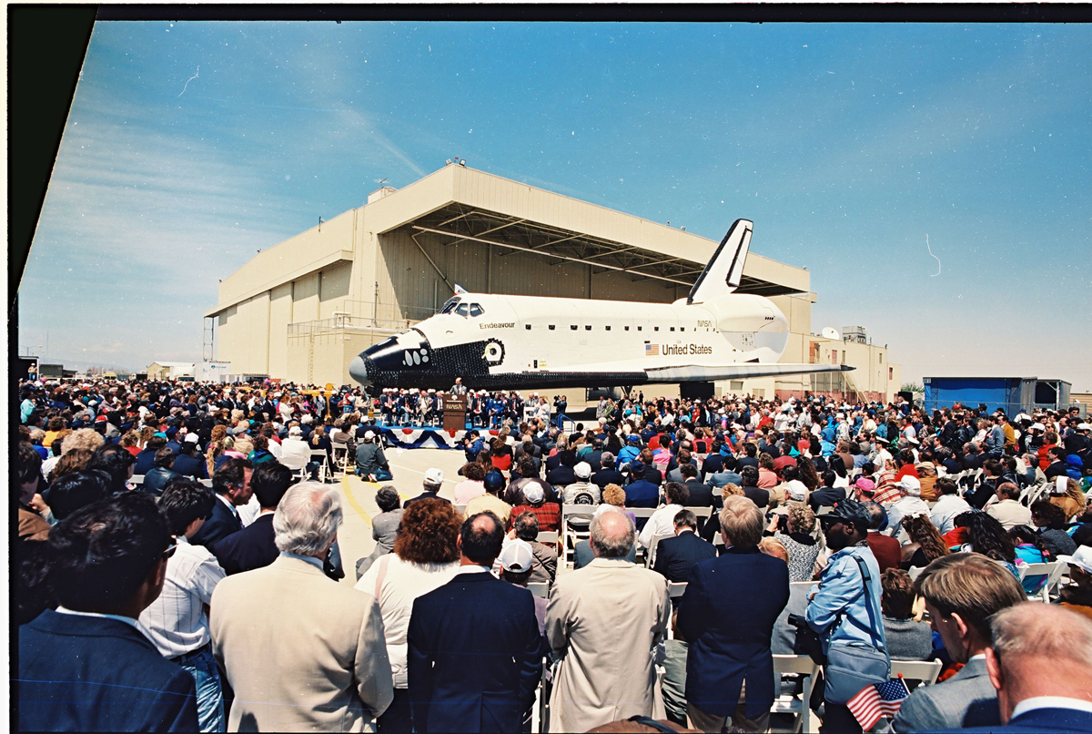Endeavour's Roll Out