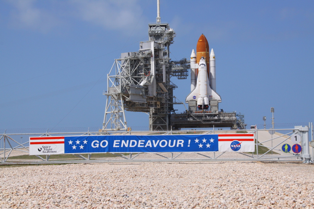NASA Tests Space Shuttle Repairs for Endeavour's Last Launch
