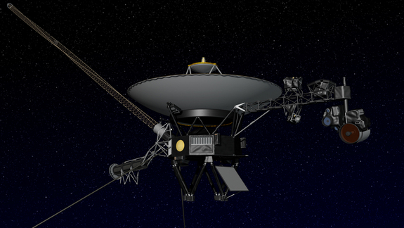 Artist's concept of NASA's Voyager spacecraft.