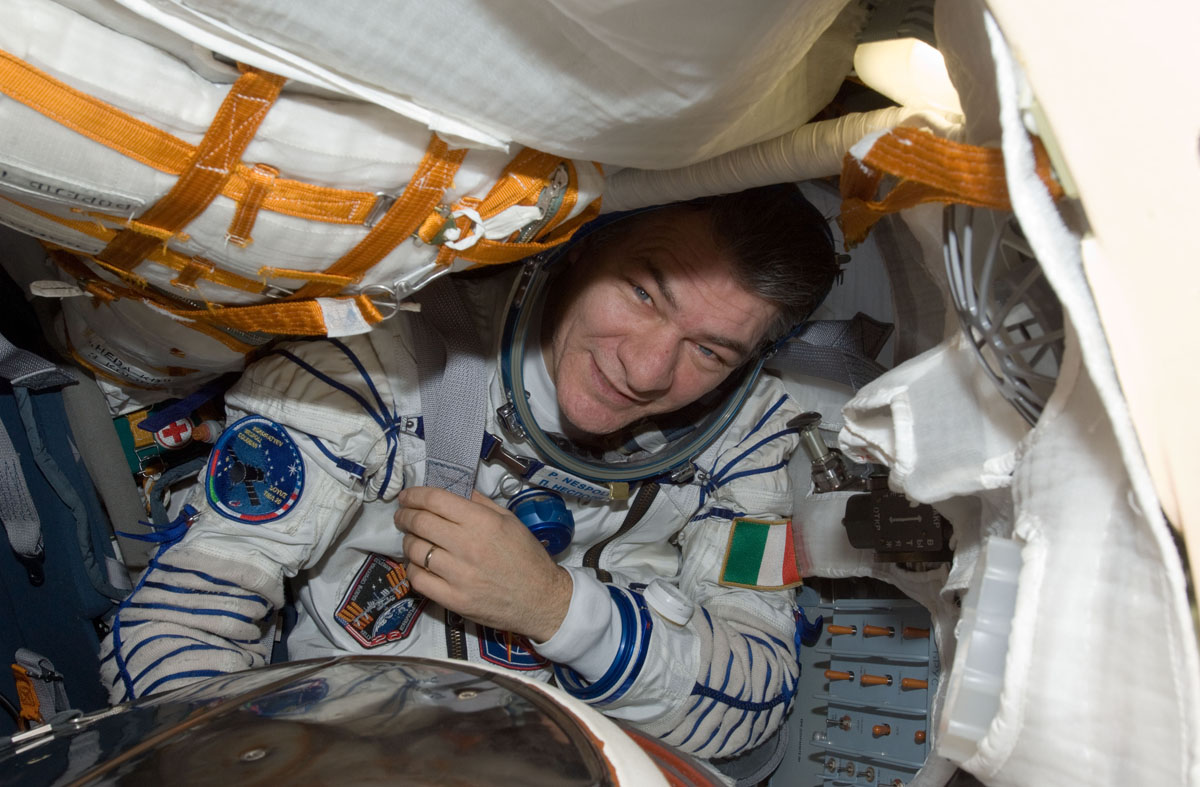 Italian Astronaut's Mother Dies While He's in Space