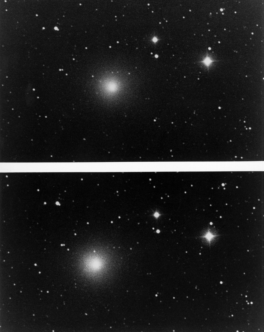 Photos of Halley's Comet Through History