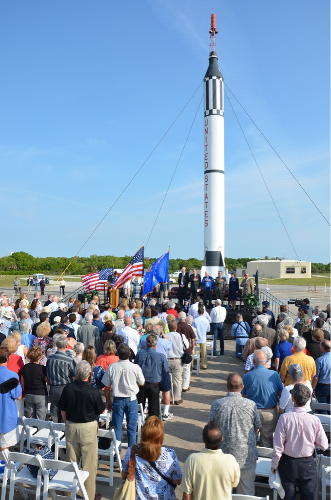 NASA Commemorates Alan Shepard's Launch