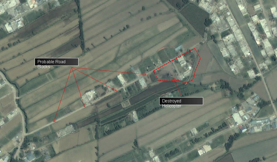 Satellite Photos Show Navy SEAL Helicopter Used in Osama ...