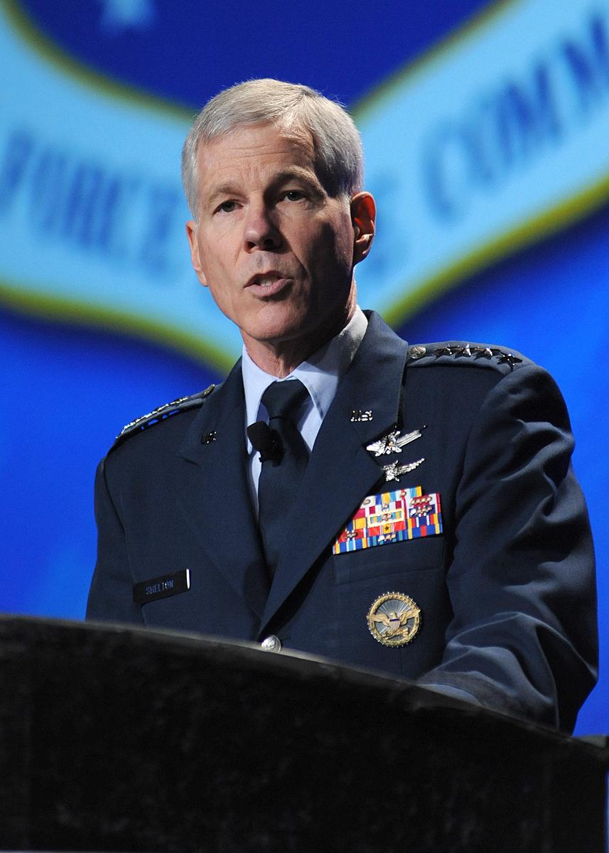 USAF  Gen. William Shelton
