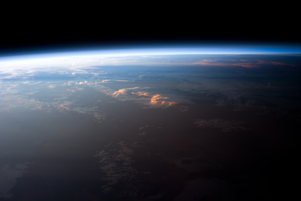 See Sunset from an Astronaut's Perspective