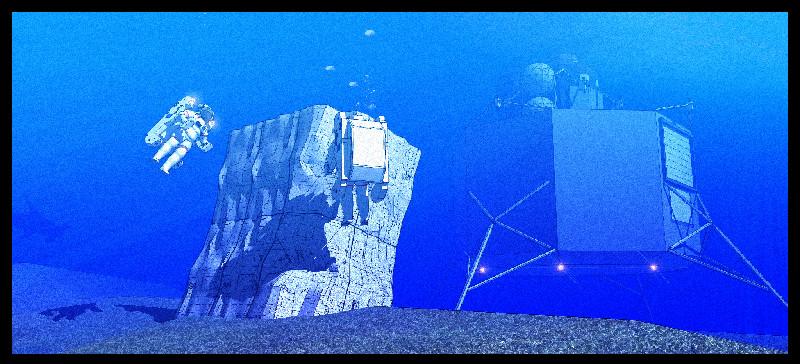 NASA Builds Asteroid Landscape on Ocean Floor