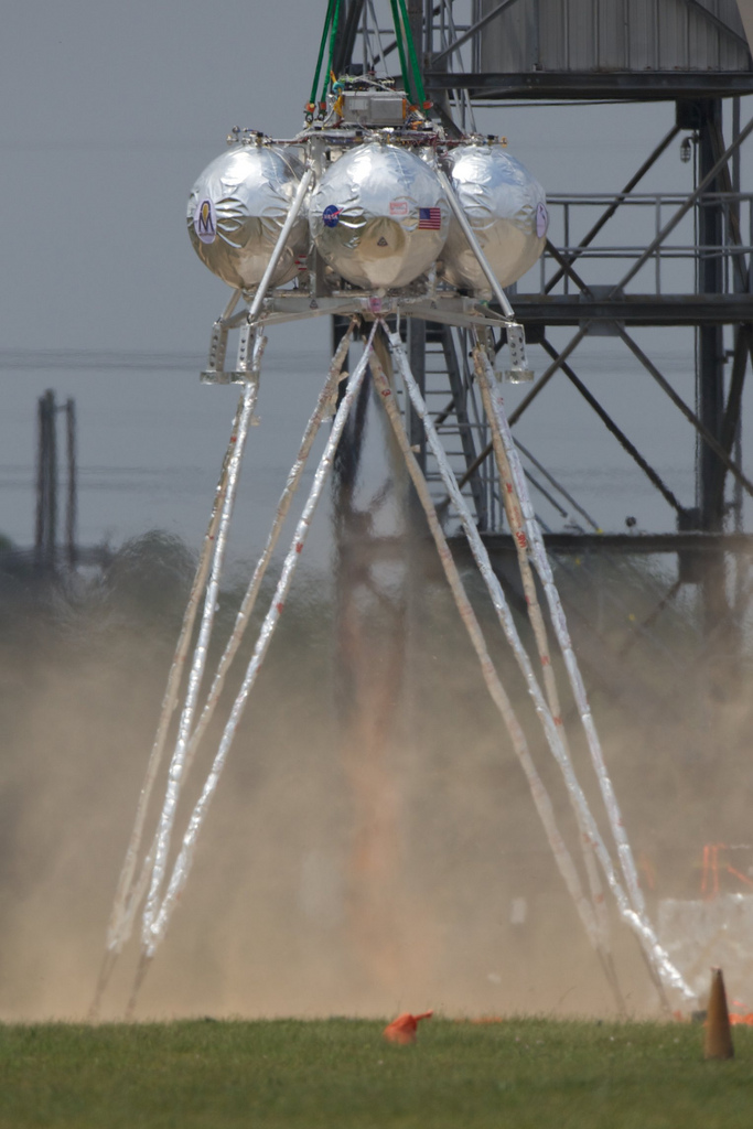 Second Morpheus Engine Firing Test