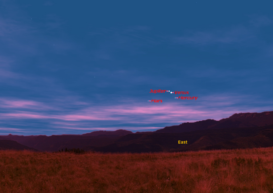 How to See Venus and Jupiter Converge on Wednesday