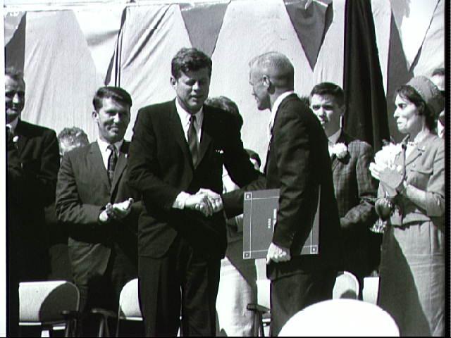 President John F. Kennedy and Astronaut John Glenn