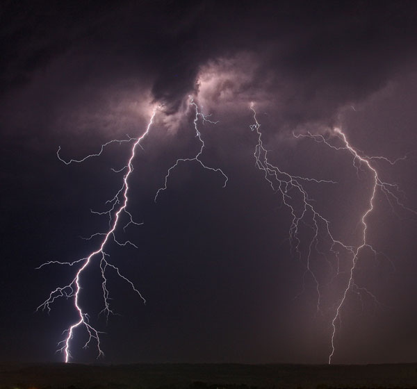 How Lightning Sparks High-Energy Bursts in the Atmosphere