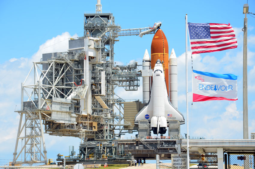 Shuttle Endeavour Poised for Last Launch