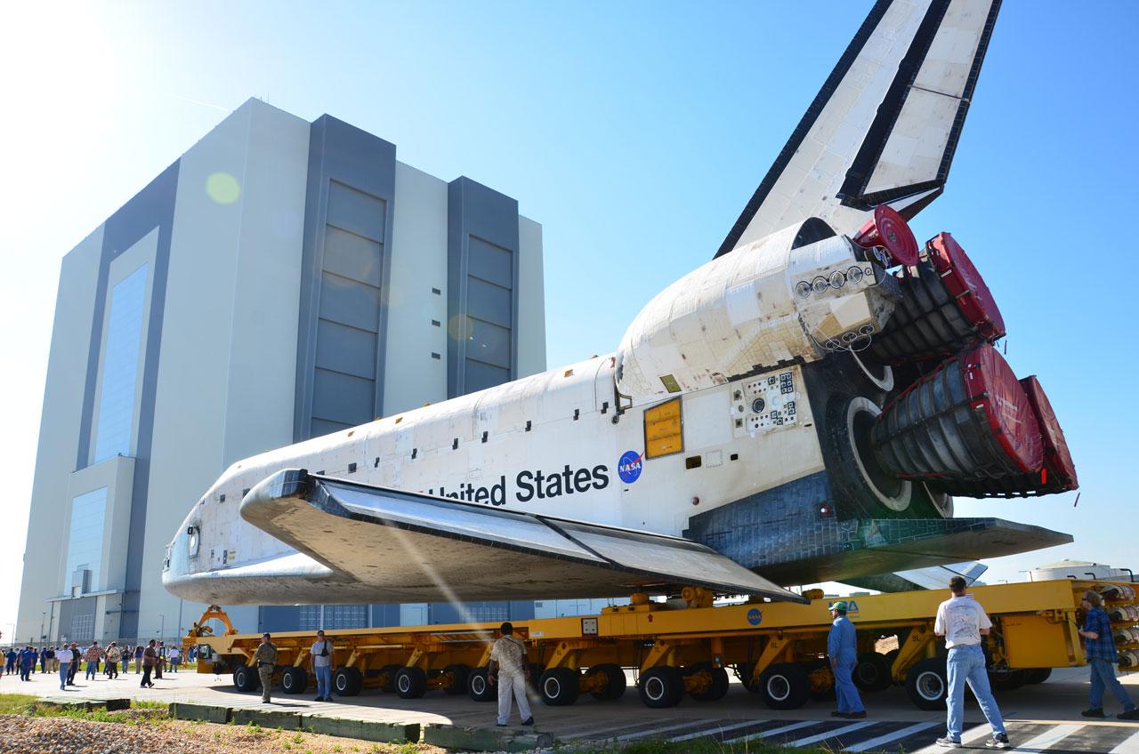 NASA Prepares Shuttle Atlantis for One Final Launch