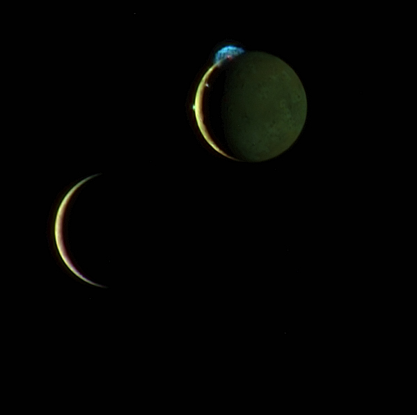 Io and Europa Meet Again