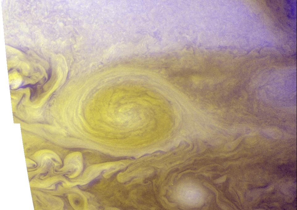 Jupiter's Little Red Spot: Best Color