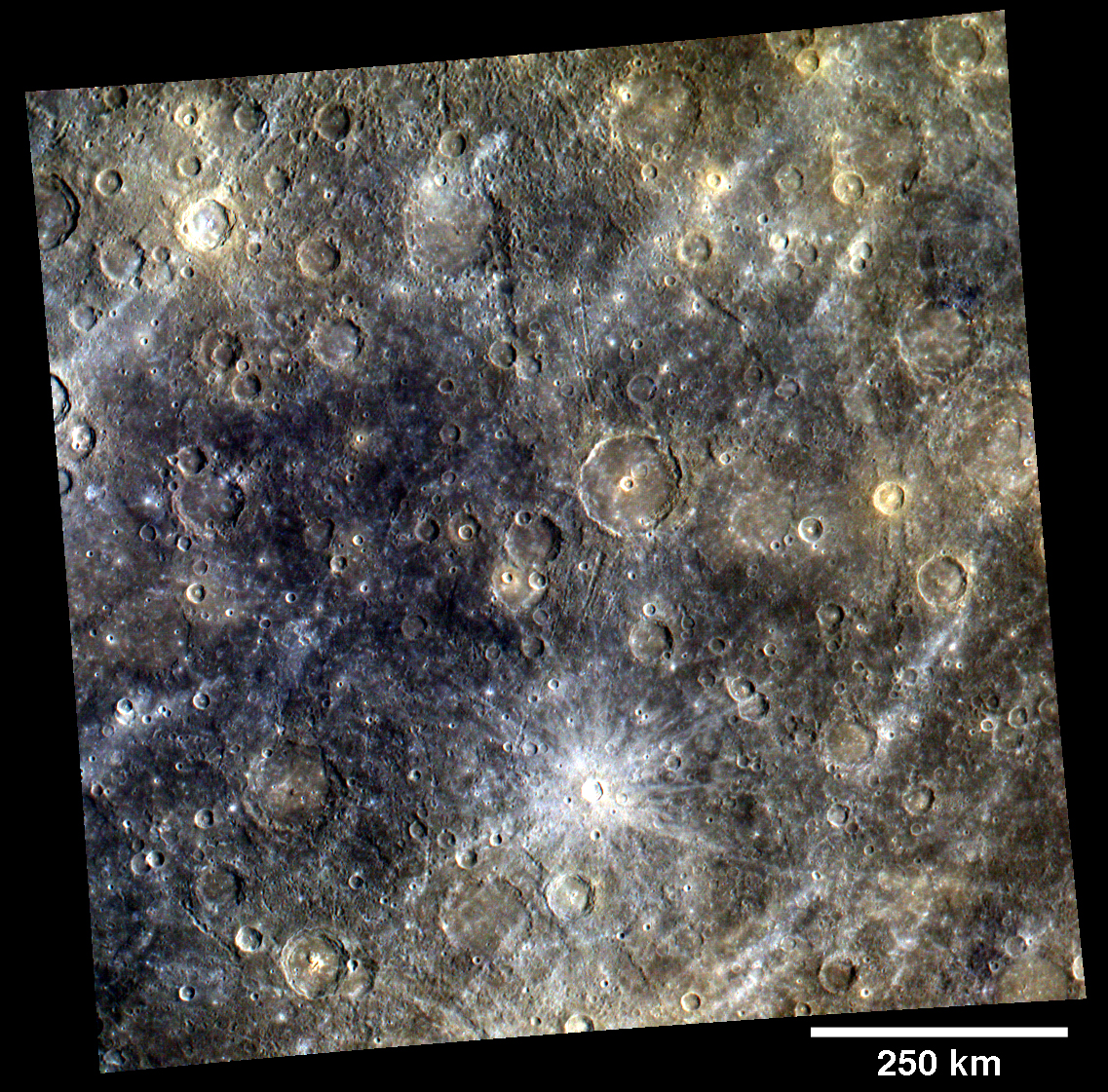 Mapping Mercury's Surface in Color