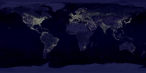 Light Pollution in 1995