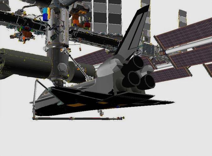 Endeavour Shuttle Crew to Inspect Damaged Heat Shield Tile