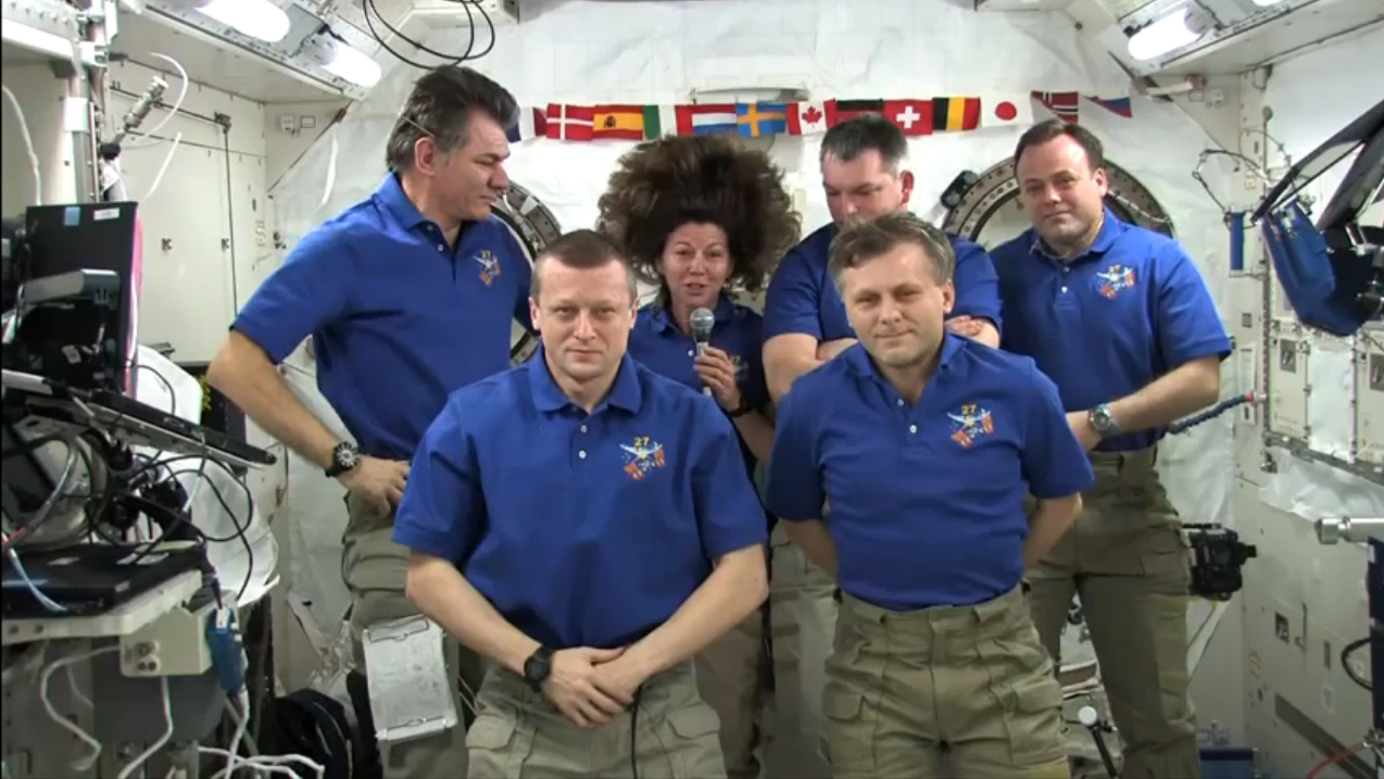 Space Station Crew to Return to Earth Today