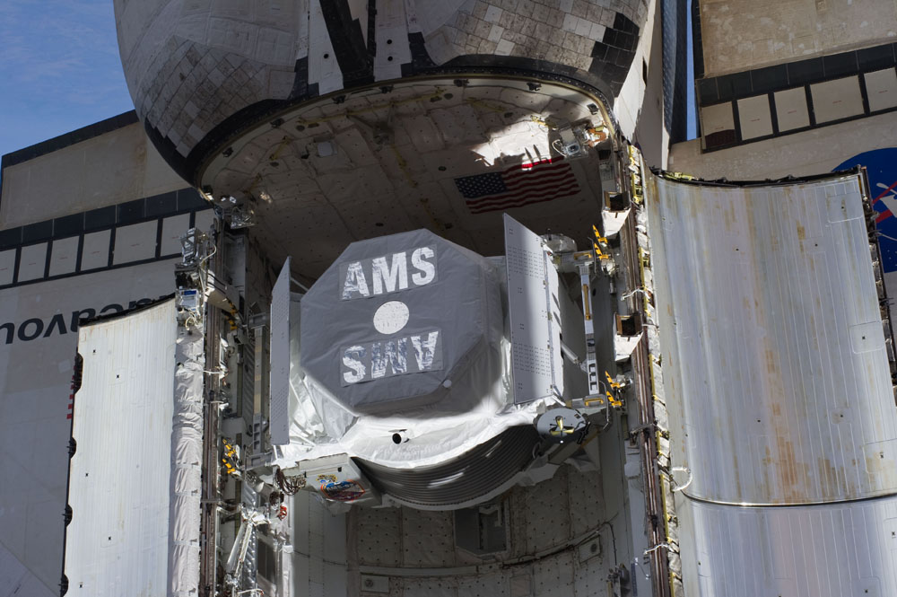 Endeavor's Alpha Magnetic Spectrometer 2