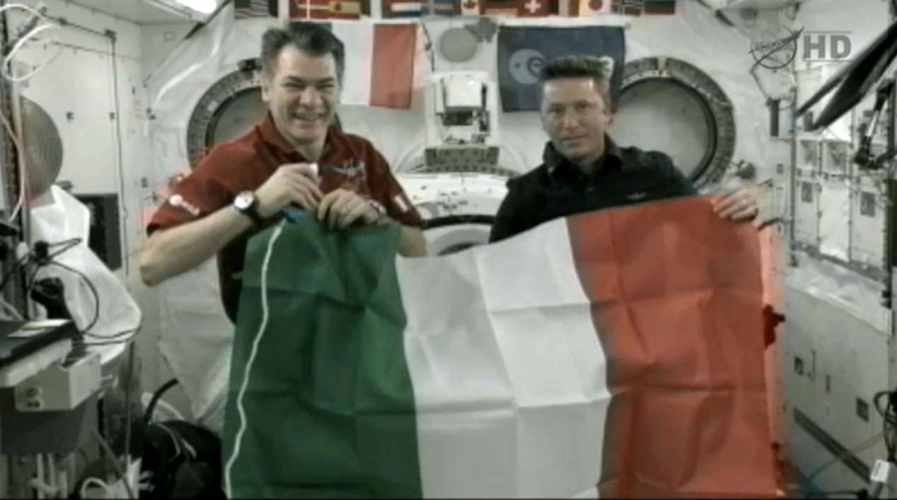 Ciao, Earth! Italian Astronauts in Orbit Speak With President of Italy