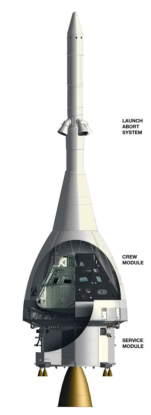 Cutaway: NASA's Multi Purpose Crew Vehicle