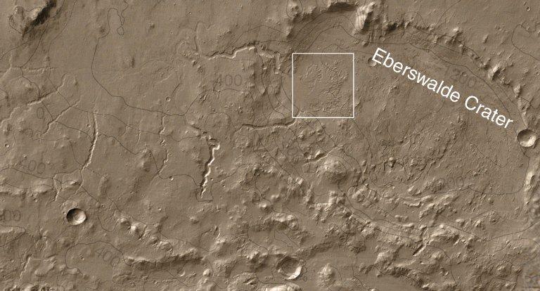 Eberswalde Crater