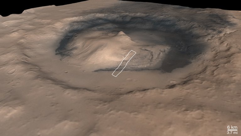 New NASA Rover May Climb 3-Mile-High Martian Mountain