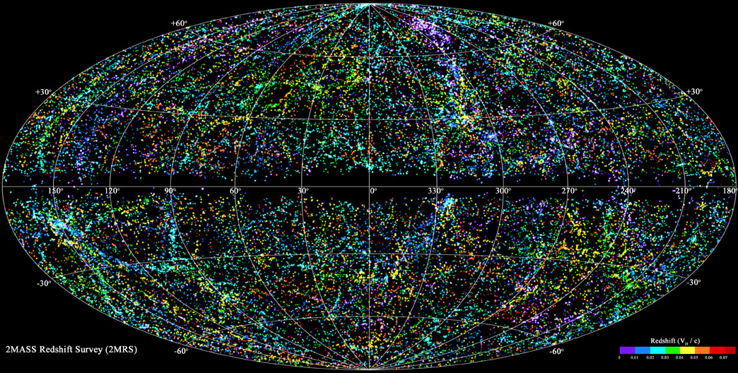 New 3-D Map of Universe Is Best One Yet