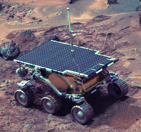 Mars Pathfinder Spacecraft and Sojourner Rover