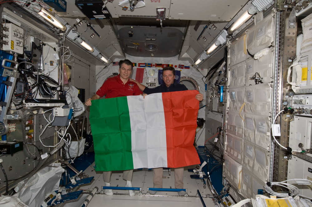 Il Tricolore in Space