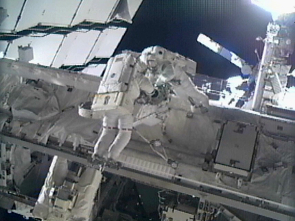 Astronauts Complete Space Station in 4th, Final Spacewalk