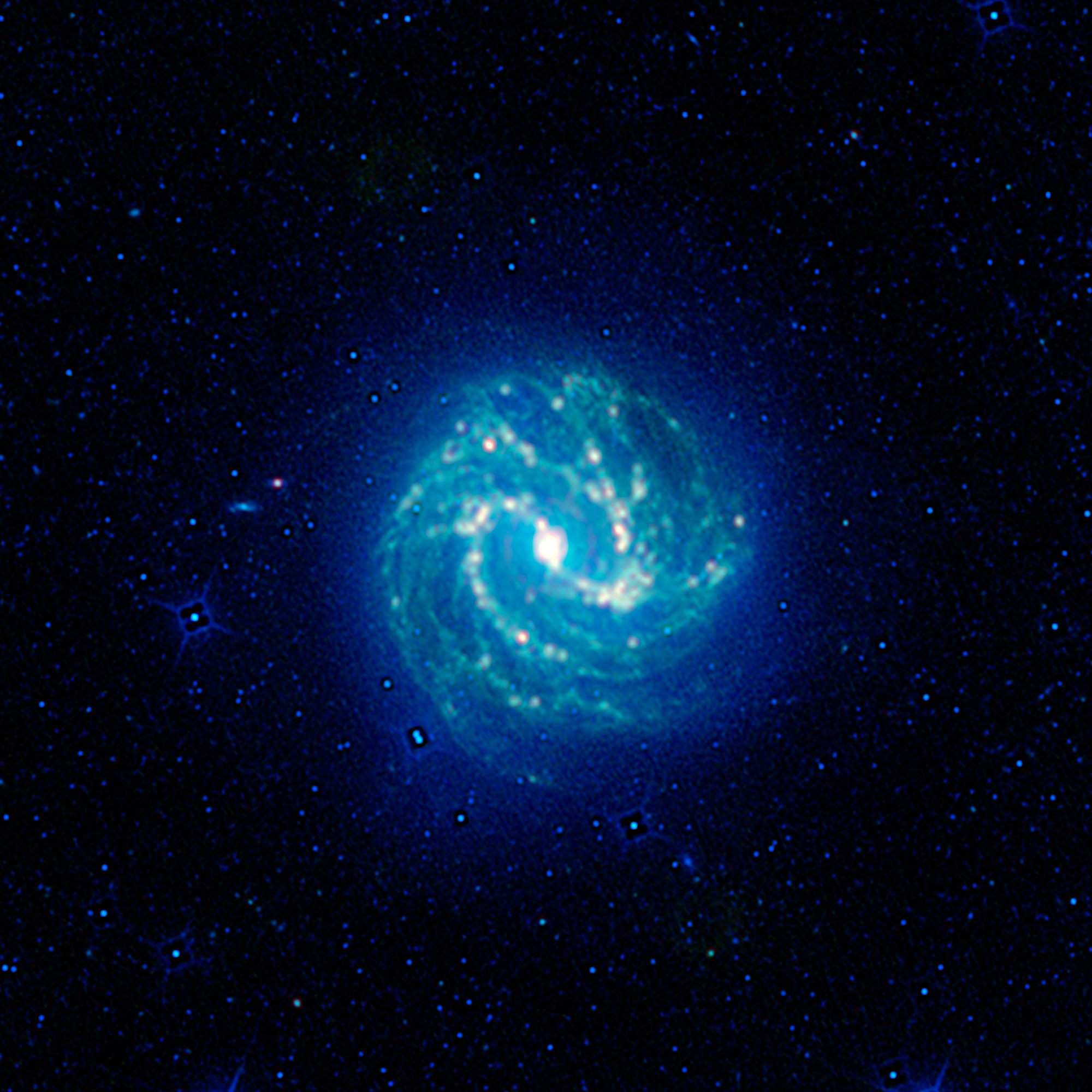 Southern Pinwheel Galaxy, or Messier 83 (M83)