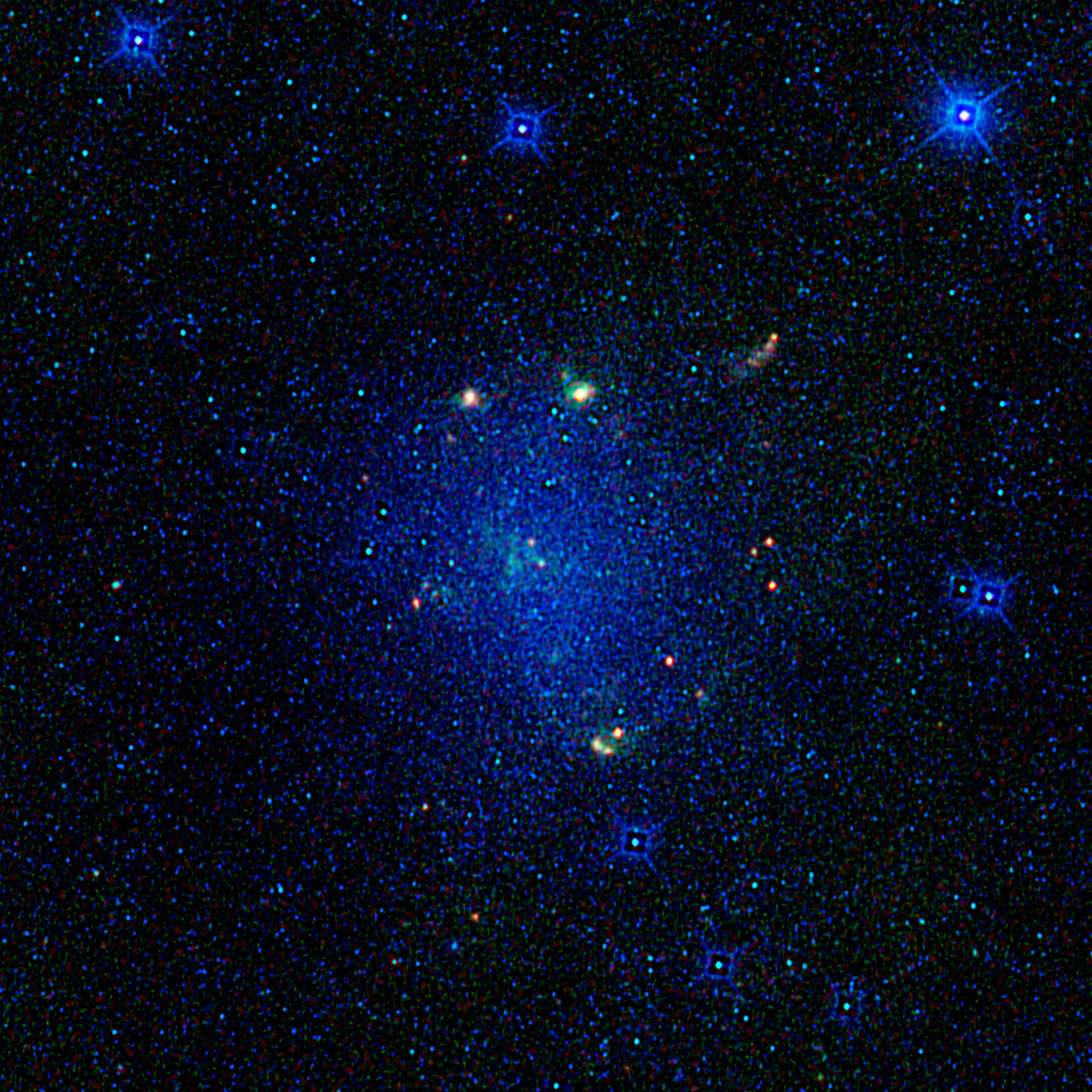 Barnard's Galaxy, or IC 4895