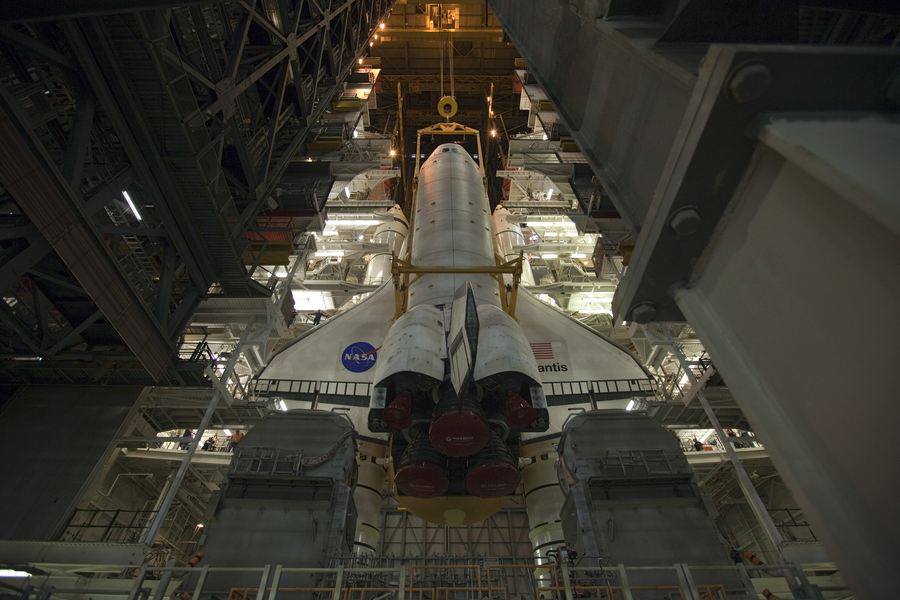 Last Space Shuttle to Fly Headed for Launch Pad Tonight