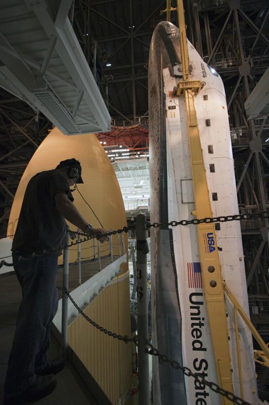 A Worker Monitors Atlantis